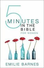Five Minutes in the Bible for Women by Barnes, Emilie