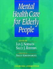 Mental Health Care for Elderly People, 1e