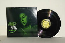 BETTY ROCHE Singin' And Swingin' LP Vinyl Stereo Jack McDuff & Jimmy Forrest
