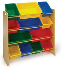 Toy Storage Organizer Box Kids Playroom Bins Book Children Furniture Toys New