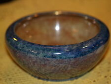 Lovely Art Deco style 1930's Grimwades Blue and yellow lustre ware bowl