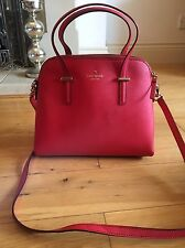 Kate Spade Red Maise Bag Cedar Street - Cross Hatch Leather RRP £268 New