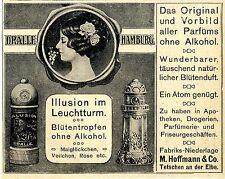 Dralle Hamburg Niederlass.Hoffmann & Co. Tetschen a.d.Elbe Ad 1910