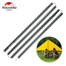 2m x 2pcs Aluminium Folding Tent Pole Outdoor Sun Shelter Reinforced Support