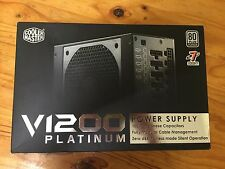 Cooler Master Vanguard 1200W 80+ Platinum Modular ATX Power Supply 4-Way SLI