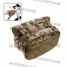 TUBE SADDLE BAG FOR MOUNTAIN BIKE CAMOUFLAGE MIMETICA BORSA BICI PORTAOGGETTI