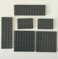 LEGO #4754 Harry Potter Hagrid's Hut Replacement Lot Grey Base Pieces