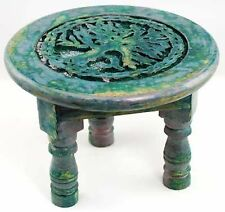 "Round Tree of Life Altar Table 6"" - Wiccan Altar Supply Ceremonial"