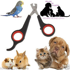 Nail Clipper Cutter Scissors Whelping Puppy Kitten Small Animal Bird Rabbit Pet