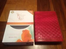 NIV Womans Study Bible - $74.99 Retail - Red Leathersoft - Full Size