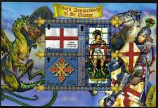 GIBRALTAR MNH 2003 MS1055 1700TH DEATH ANV OF ST GEORGE MINISHEET