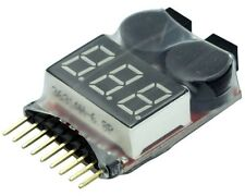 YUKI MODEL 997227 Akku LiPo-Checker Tester 1-8S Alarm Buzzer einstellbar