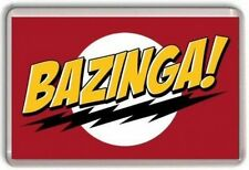 Bazinga The Big Bang Theory Fridge Magnet  Sheldon