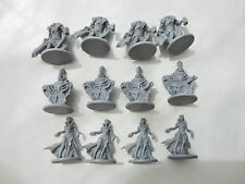 Zombicide Black Plague 12x Kickstarter Exclusive n.p.c zombies and white bases