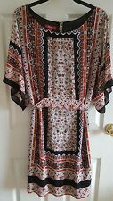 LADIES FLORAL DRESS/TUNIC FROM MONSOON UK SIZE 18