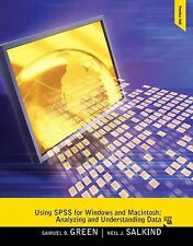 Using SPSS for Windows and Macintosh: Analyzing and Understanding Data 6th Edit