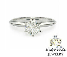 .75ct  3/4 CARAT H/I1 ROUND-CUT DIAMOND IN 14K GOLD SOLITAIRE ENGAGEMENT RING