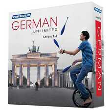 NEW Pimsleur Unlimited GERMAN Language Level 1 2 3 4 Course 120 Lessons