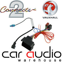 CT20VX03 Vauxhall Vectra C 2004  Car Stereo Aerial & ISO Wiring Harness Adapter