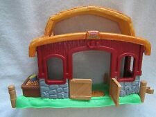 NEW! Fisher Price Little People CHRISTMAS DRUMMER BOY STABLE Barn - Nativity