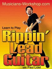 Learn to Play Rippin' Lead Guitar with Paul Lidel (DVD) Guitar InstructionCourse