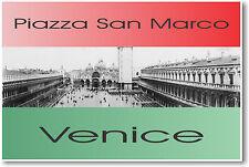 Piazza San Marco Venice Italy circa 1909 -  POSTER