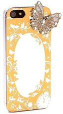 Disney Store Cinderella Princess Golden Case Screen Guard for iPhone 5/5s Mirror