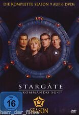 STARGATE SG-1 SEASON 9 (Box-Set 6 DVDs) NEU+OVP