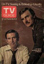 1974 TV Guide May 25 - J D Cannon - McCloud; Soul Train; Robert Morley -Bluffers