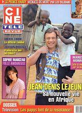 CINE REVUE (belge) 2008 N°10 sophie marceau marilyn monroe sheryl crow