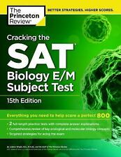 College Test Preparation: Cracking the S. A. T. Biology E/M Subject Test by...