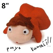 "PONYO 8"" Plush Doll By The Cliff Toy Studio Ghibli NEW"