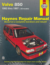 1993-1997 Haynes Volvo 850 Repair Manual