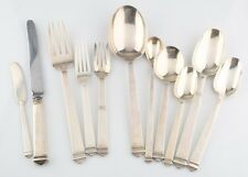 Tiffany & Co. 63 Piece Set of Sterling Silver Hampton Flatware Silverware Gift!