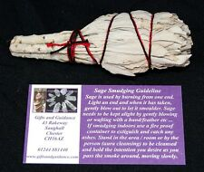 "White Sage 4"" Californian Smudge Stick Cleansing"