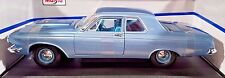 Maisto 1963 Dodge 330 Blue 1:18 Die Cast Car Special Edition 31652