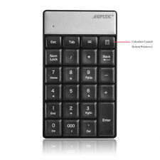 Wireless  2.4GHz  23 Keys Number Pad Numeric Keypad Keyboard for Laptop PC & Mac