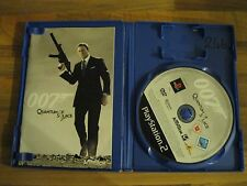 Bond 007: Quantum of Solace (Sony PlayStation 2, 2008) - European Version