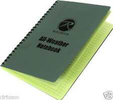 """Rothco All-Weather Rain Protected Waterproof 6""""x8"""" Tactical Notebook - Best Buy"""