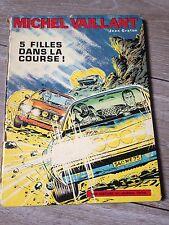 5 filles dans la course EO 1er trim 1971 MICHEL VAILLANT côte BDM 35e