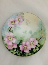 Antique J P Jean Pouyat Limoges Hand Painted Decorative Plate Collectors