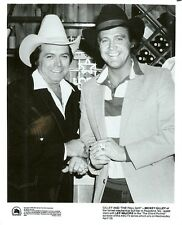 LEE MAJORS MICKEY GILLEY MECHANICAL BULL BAR THE FALL GUY ORIG 1982 ABC TV PHOTO