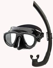 Mares TANA DUAL LOW VOLUME Silicone Mask Snorkel Set - Spearfishing Snorkelling