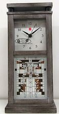"BULOVA FRANK LLOYD WRIGHT MANTLE CLOCK ""WATERLILIES""  B4835"