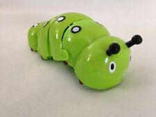 "Green 3 1/2"" Moving Wind up Catipiller Bug Toy"
