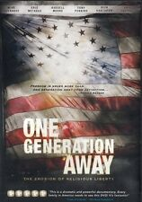 NEW Sealed Christian Documentary DVD! One Generation Away: Religious Liberty