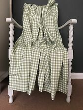 (ATH329) SHABBY CHIC GINGHAM COUNTRY COTTAGE QUALITY CURTAINS