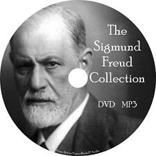 Sigmund Freud Audio Book Collection Unabridged on 1 MP3 DVD Psychology Dreams