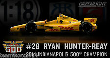 2014 #28 Ryan Hunter-Reay / Andretti Autosport DHL Diecast Model Car 1:18 10957