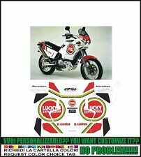 kit adesivi stickers compatibili  elefant 750 e lucky ex marathon